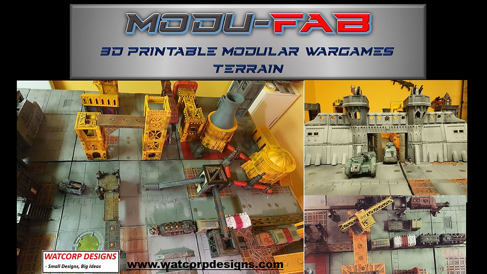 Modufab Kickstarter Late Pledge