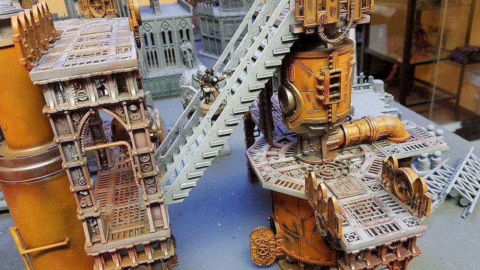 Industrial Stairs - Warhammer necromunda Killteam