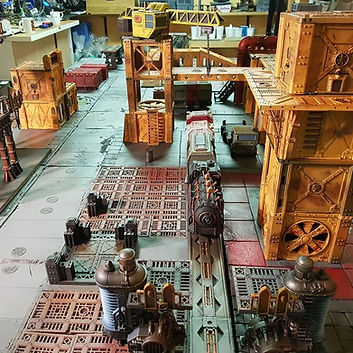 Modufab Warhammer Terrain