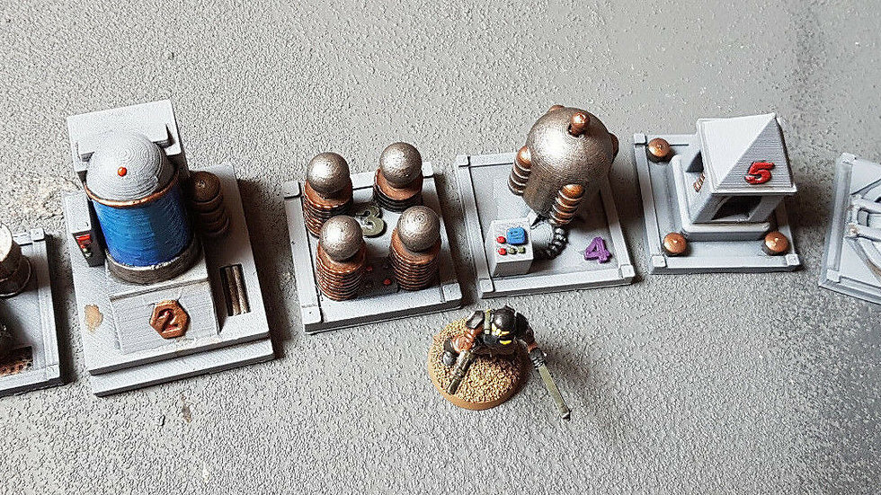 Terrain Style Objective Markers