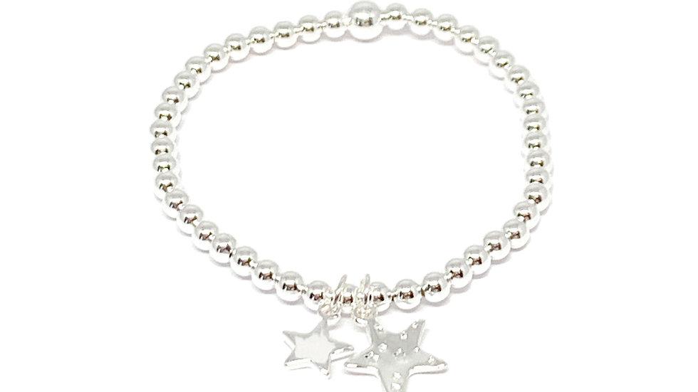 Grace Star Bracelet - Silver