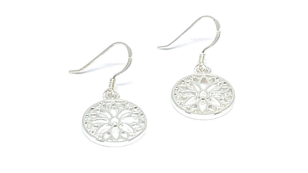Stella Sterling Silver Charm Earrings