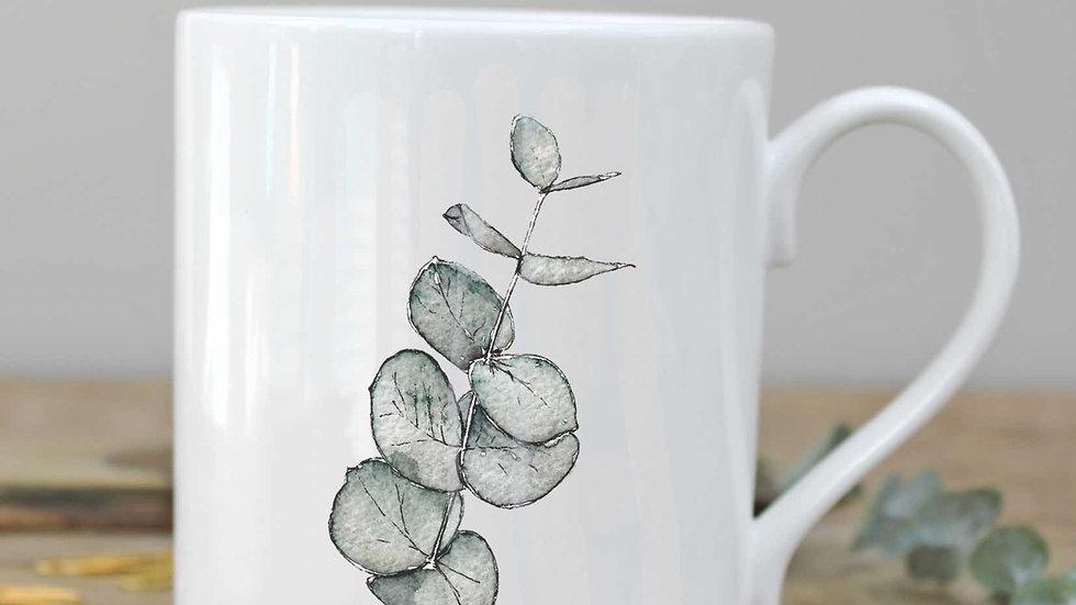 Eucalyptus mug in a gift box