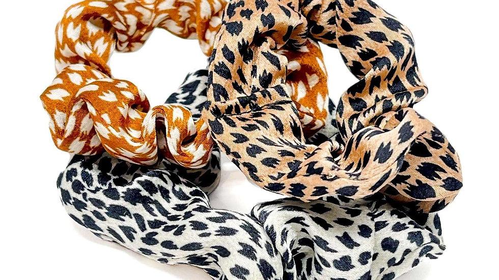 Maple Hair Scrunchies - Set of Three