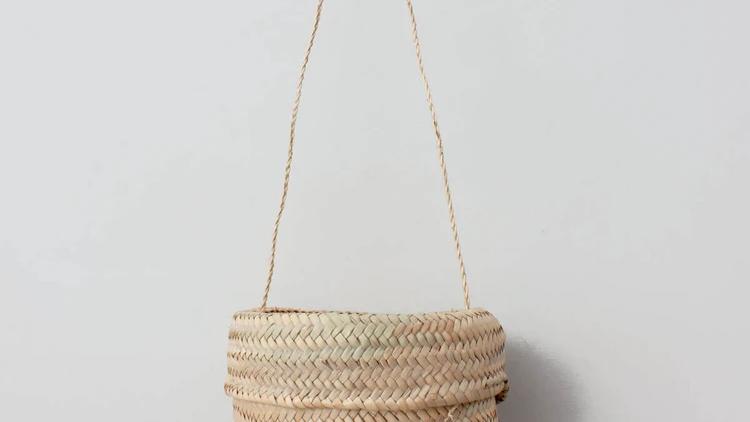 Basket Bucket Bag