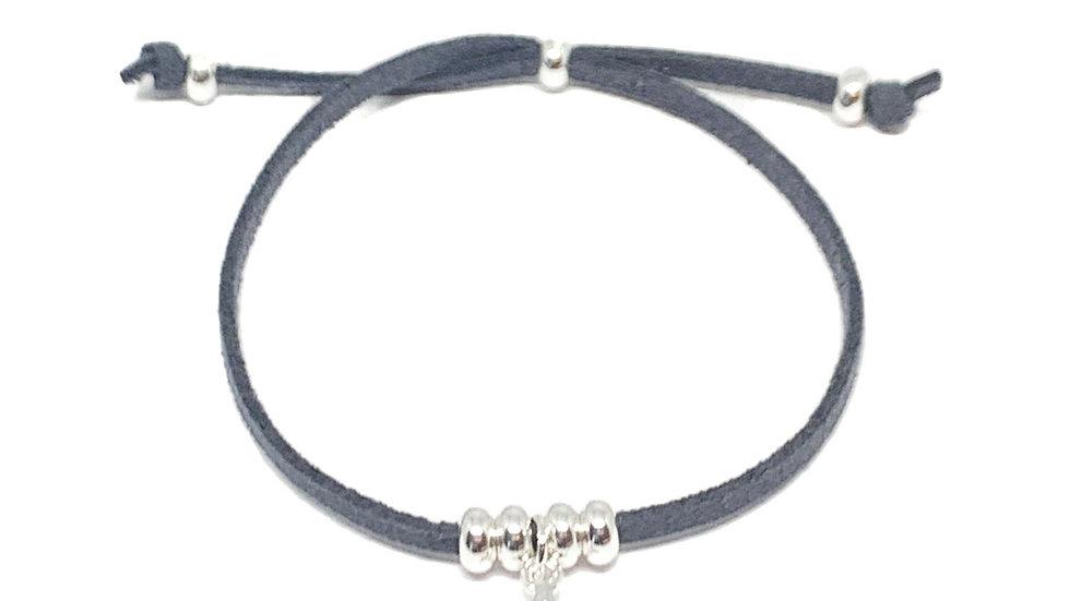 Helena Star Charcoal Bracelet