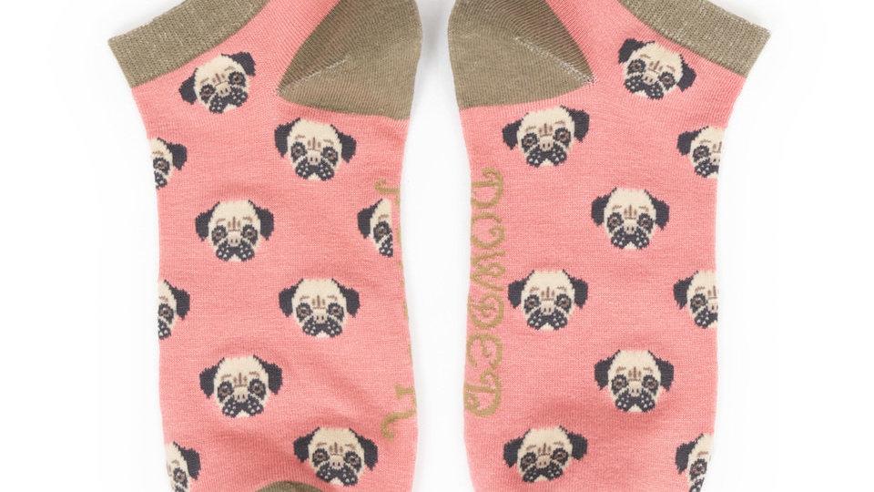 Pug trainer sock