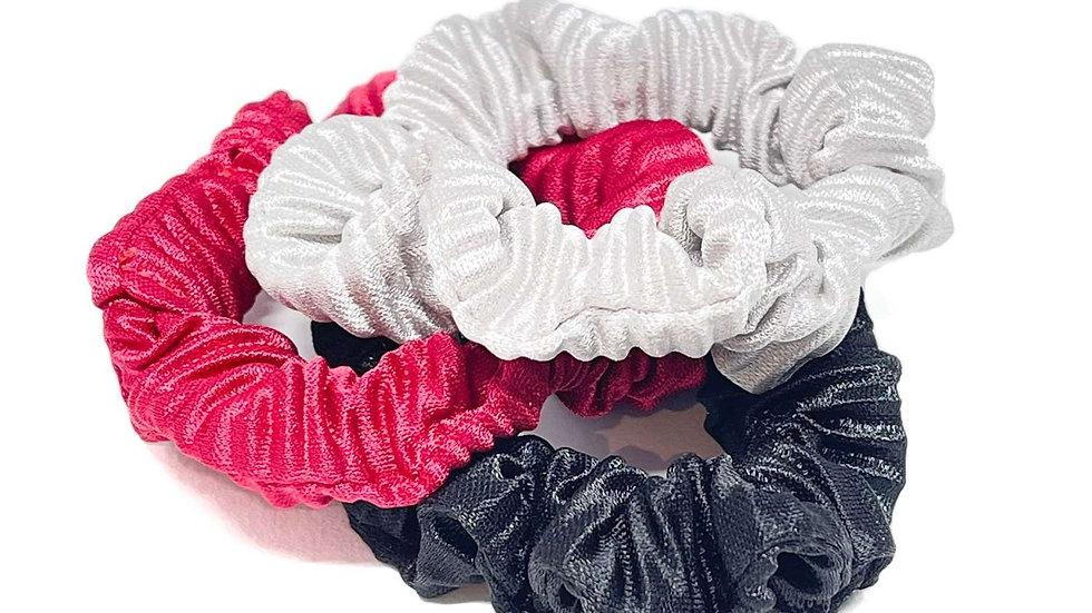 Evangeline Hair Scrunchies - Set of Three