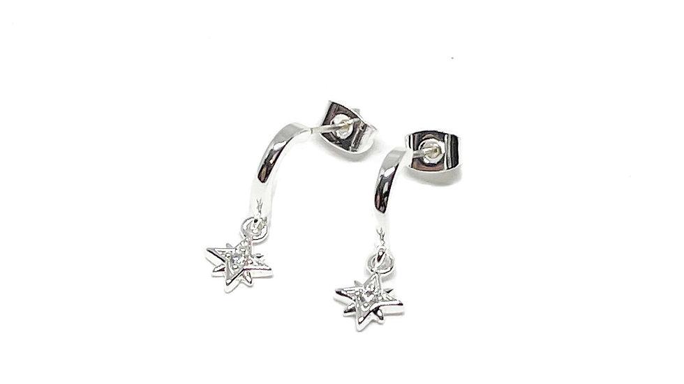 Una Sterling Silver Earrings