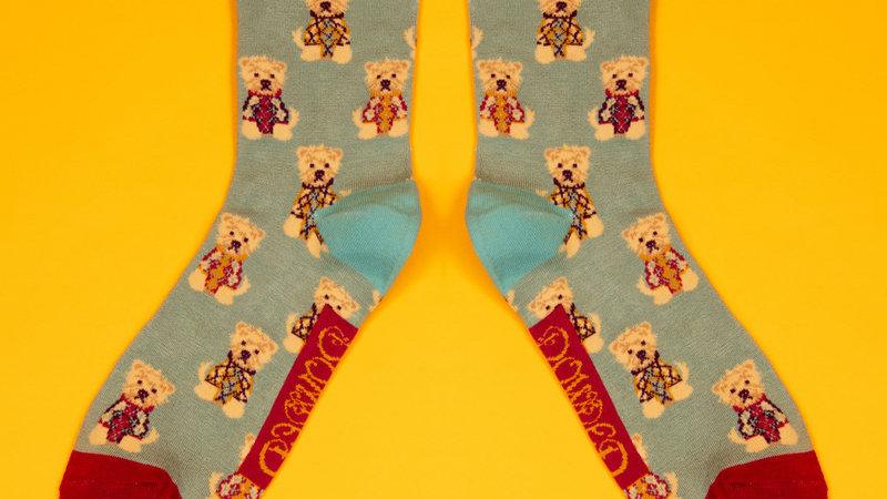 Men's Argyll Westie Socks Ice
