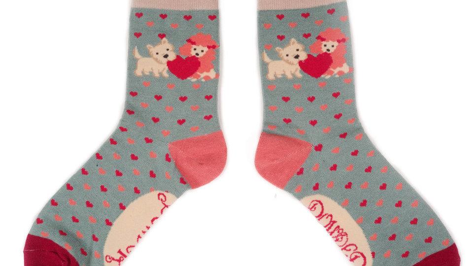 Powder Dog Bamboo Socks