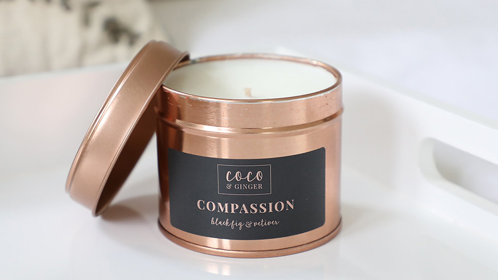 Compassion - Soy Wax Candle in Copper Tin