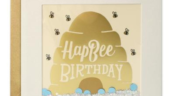 Hapbee birthday card