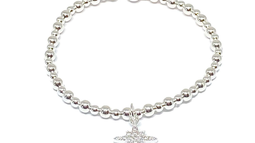 Krista Sparkle Bracelet - Silver