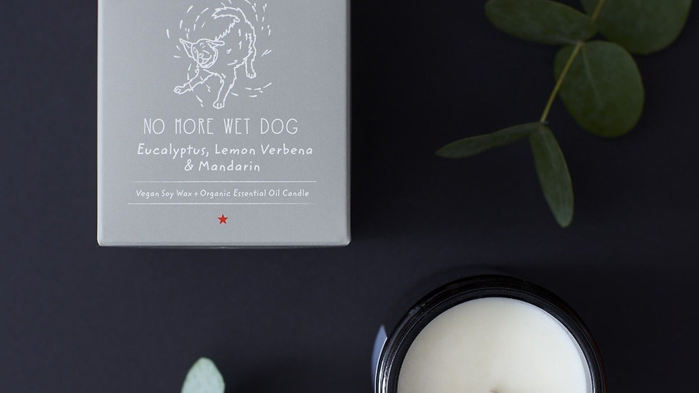 'No More Wet Dog' Organic Candle