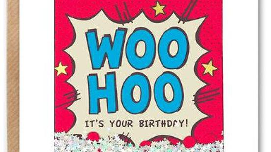 Woo Hoo birthday card