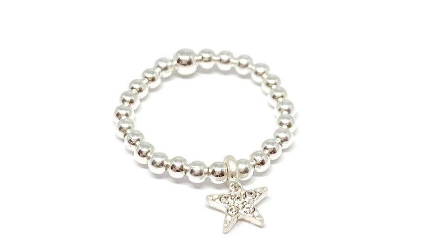 Rachel sparkle star ring