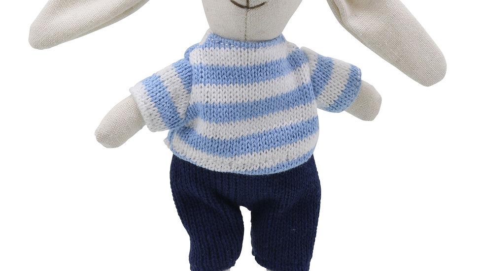 Mini Wilberry Boy Rabbit 'blue'