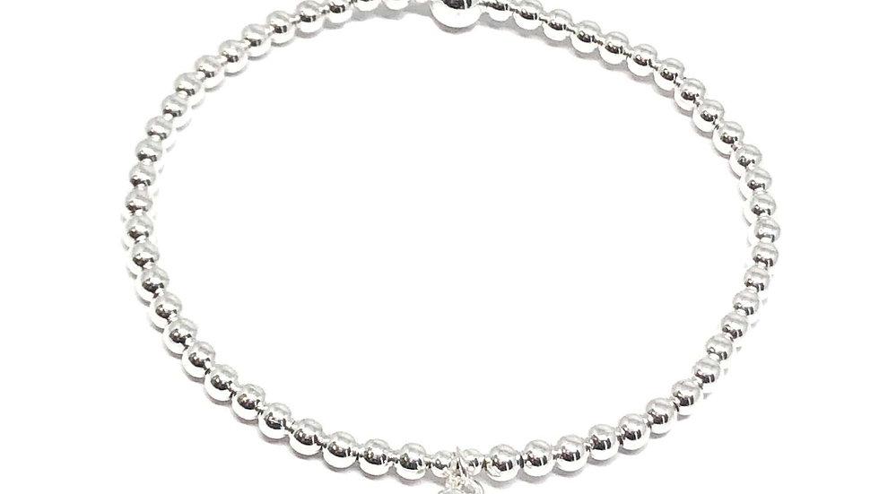 Maisy Mini Heart Bracelet - Silver