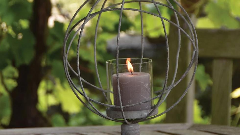 Garden/ Table Globe Candle Holder