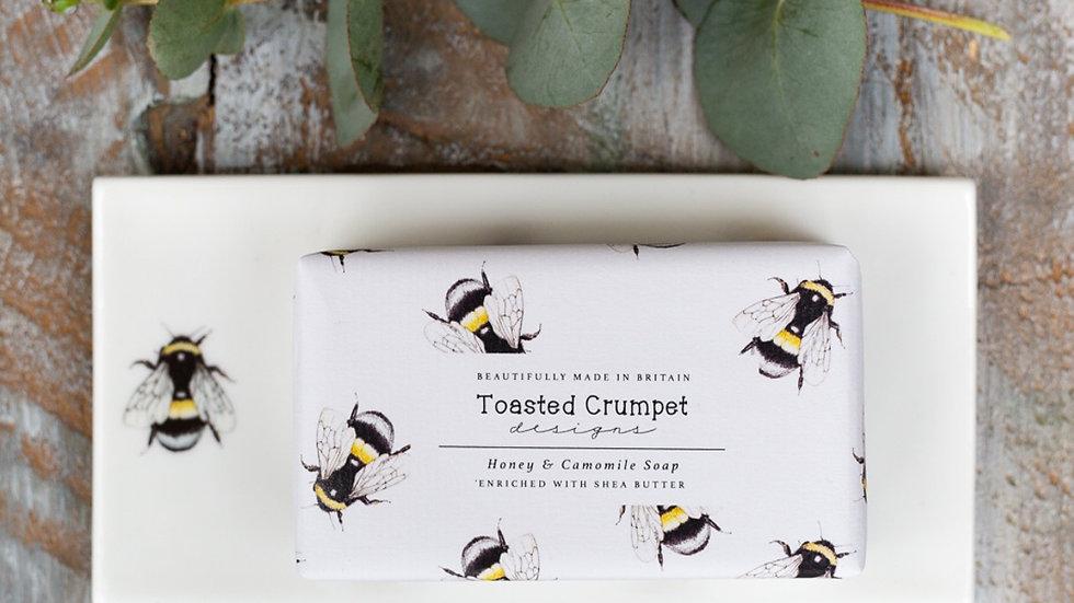 Bee rectangular soap dish