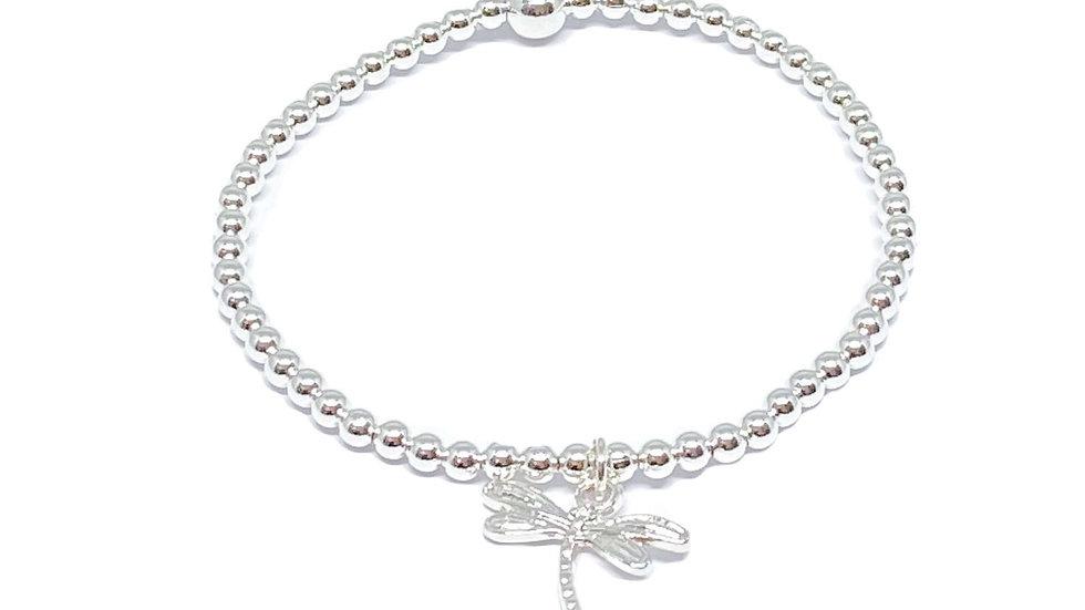 Daisy Dragonfly Bracelet