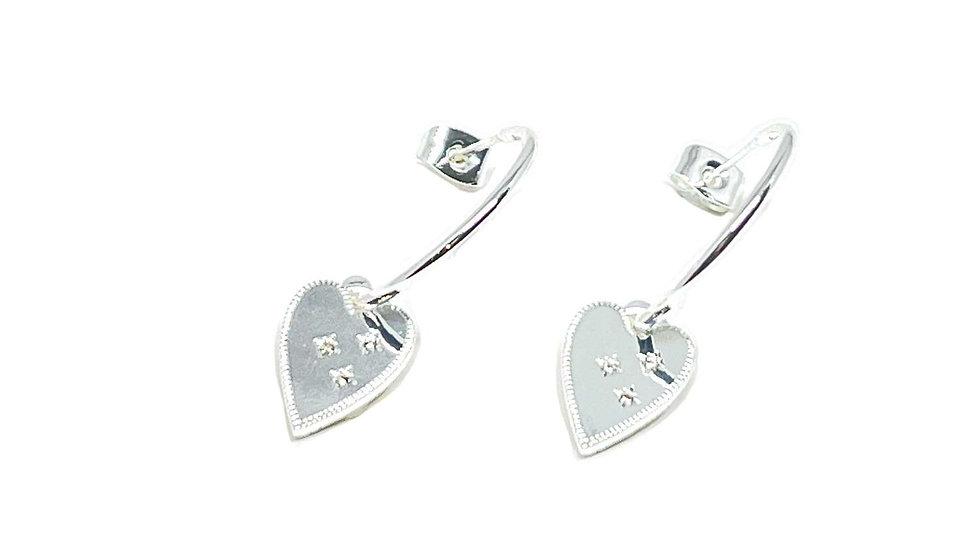 Lucy Sterling Silver Earrings