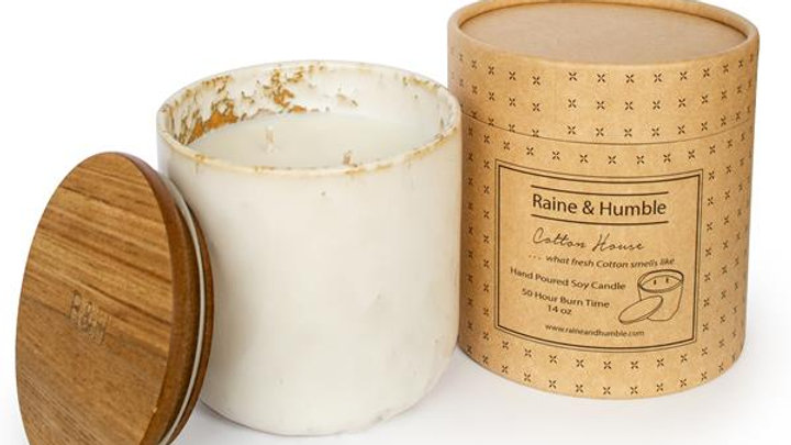 Cotton House - Scented Soy Candle/Canister
