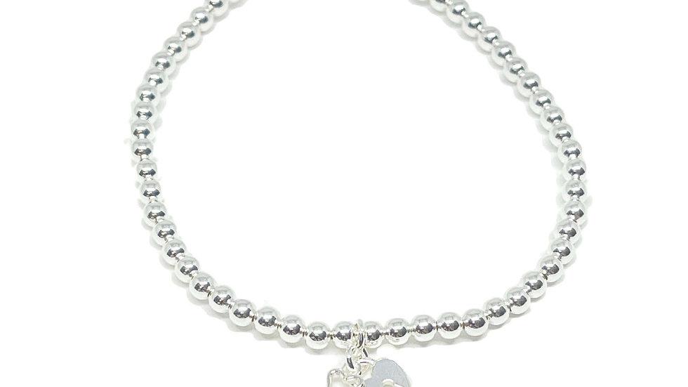 Keira Lock & Key Bracelet