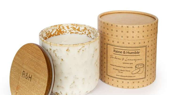 Lemongrass - Scented Soy Candle/Canister