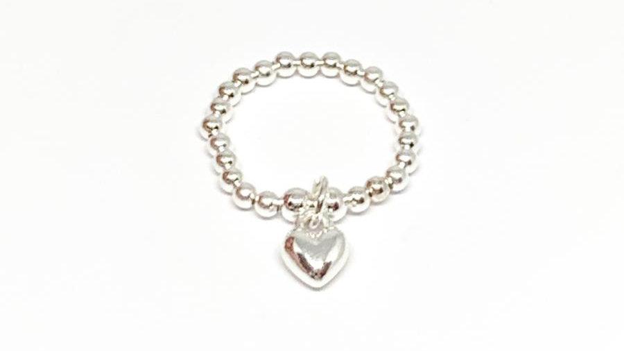 Rachel heart ring