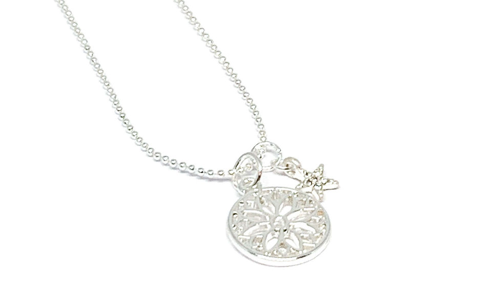 Stella Charm Necklace with Star
