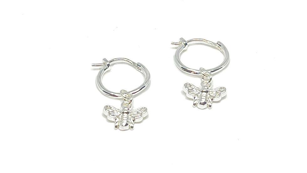 Dahlia Sterling Silver Earrings