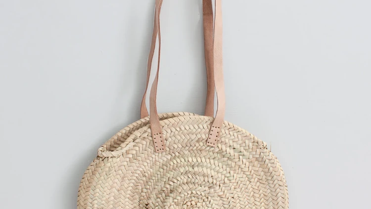 Circular Shopper Basket