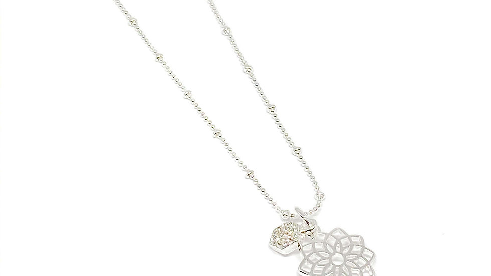 Cassandra Charm Necklace.