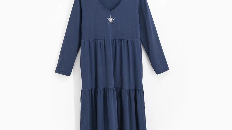 Sienna Tiered Star Dress