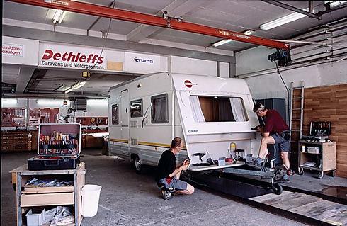 Werkstatt für Wohnmobile und Wohnwagen Pfalz