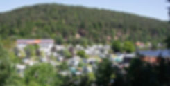 Campingplatz Sägmühle Luftaufnahme
