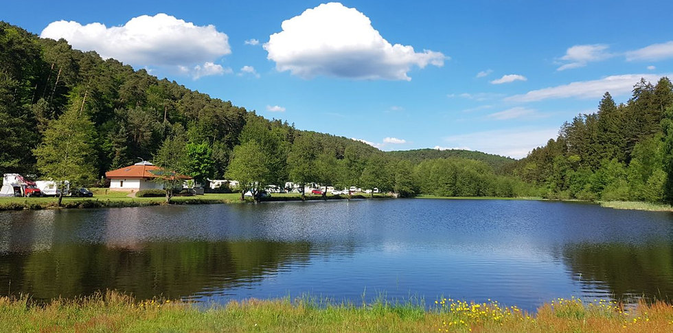 Badesee Campingplatz Sägmühle