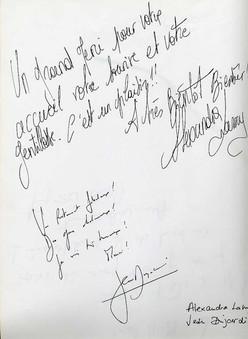 Alexandra Lamy & Jean Dujardin