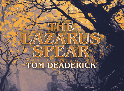 THE LAZARUS SPEAR Audible Book Available.