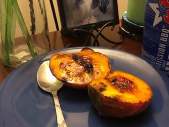 Healthy Summer Dessert...Broiled Stone Fruit!