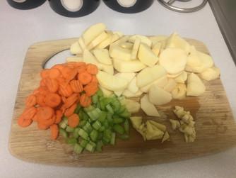 Vegetarian Curried Lentils!
