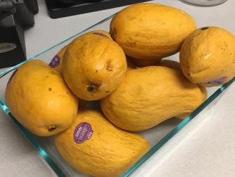 Mango Sorbet!