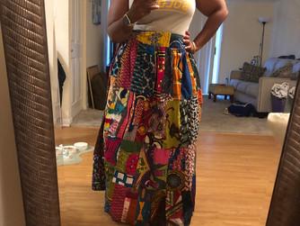 Ankara Print Skirts!
