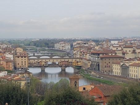 Biking Through Florence