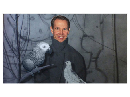 Really? #JeffKoons with his Truman Show Façade? You got to be kidding me…