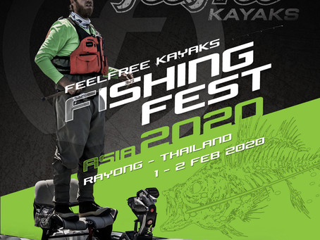FEELFREE KAYAKS FISHING FEST ASIA 2020