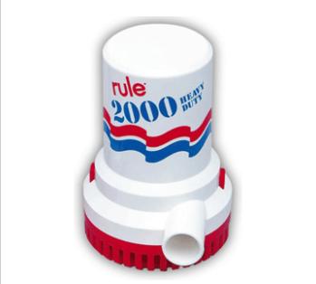 RULE 2000 G.P.H. BILGE PUMP
