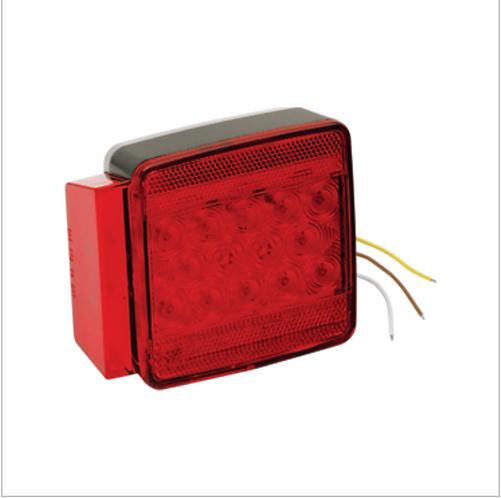 "WESBAR UNDER 80"" SUBMERSIBLE LED 7-FUNCTION LEFT/ROADSIDE TRAILER LIGHT"